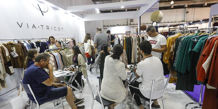 Via Tricot consolida nova marca durante a São Paulo Prêt-à-Porter